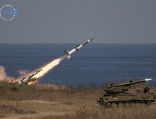 Air Defense System S-125 NEVA (rocket launch tests)