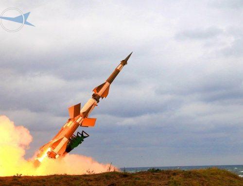Пуск ракеты ЗРК С-125 НЕВА