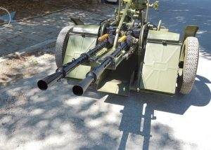TWO-BARREL ZPU ANTI-AIRCRAFT SYSTEM