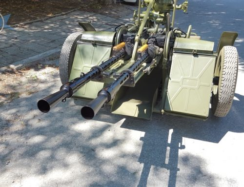 Twin-barreled AA Gun System ZPU-2