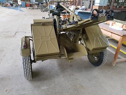 Twin-barreled AA Gun System ZPU-2 (2)