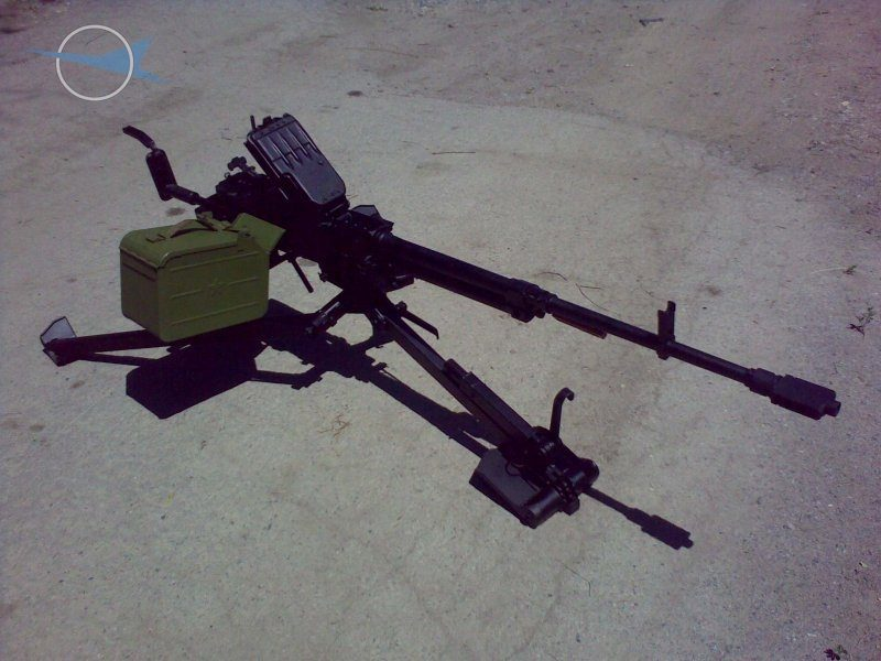 12,7mm Machine Gun NSV