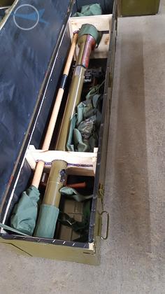 73 mm Recoilless Antitank Gun SPG-9