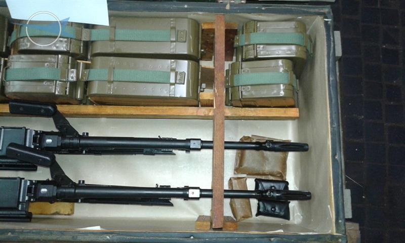 7,62mm machine gun PKM