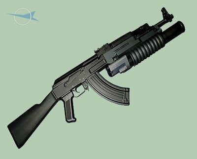 AK-47 with UBGL