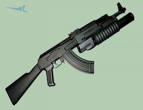 7.62×39 mm Assault Rifle AK-47 with UBGL