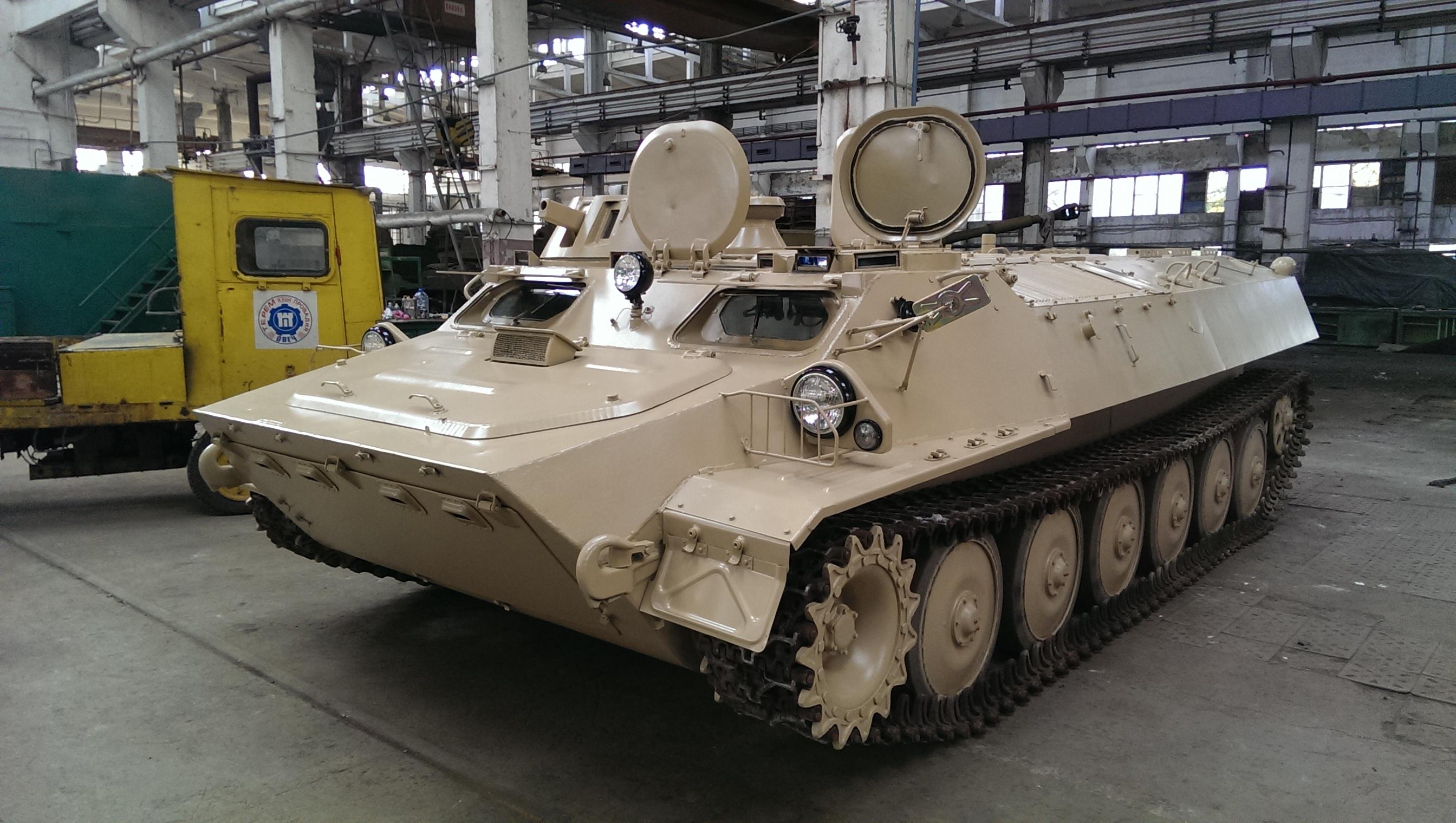 Light Armored Multi-purpose Vehicle MT-LB (2)